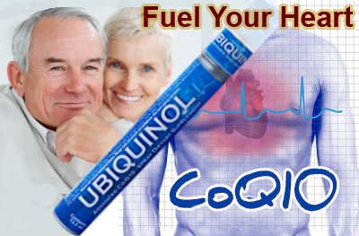 CoQ10 Ubiquinol is fuel for your heart
