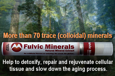 Fulvic Minerals – A hidden Health Treasure